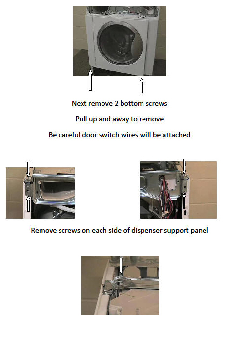 Washer Dispenser Removal