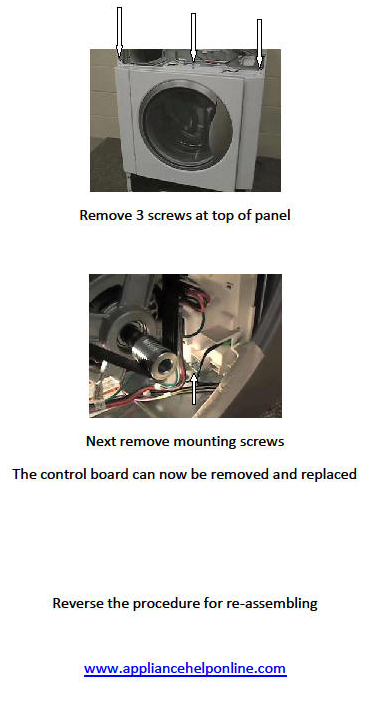 Washer Motor Control Board Replacement